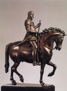 Císař Rudolf II.od Giovanniho da Bologni, 1595, Národní museum Stockholm