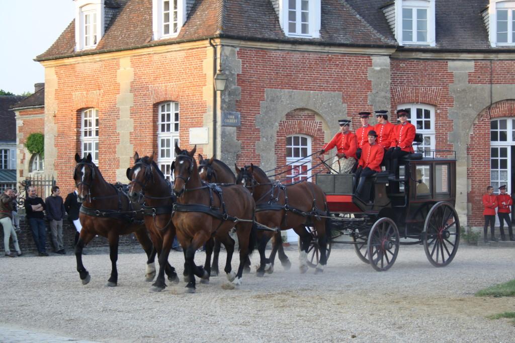 Jízda se spřežením má ve Francii dlouhou tradici