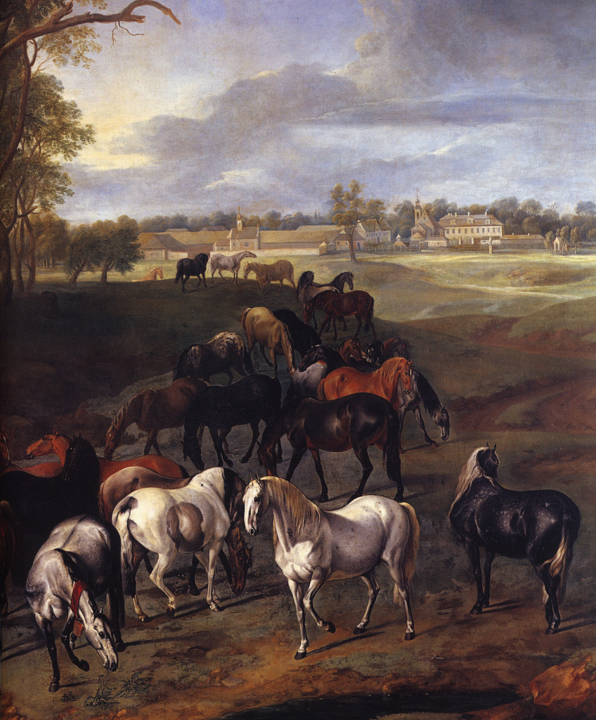 39 - Kladruby od G. Hamiltona v roce 1725