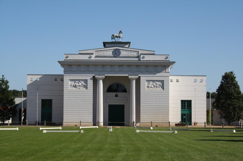 Portál redefinské jízdárny